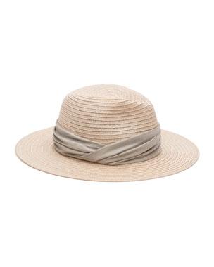 1c206325639 Eugenia Kim Courtney Woven Fedora Hat w  Scarf Band