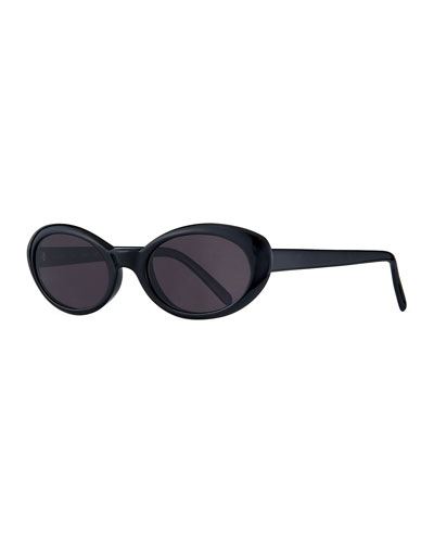 Seattle Oval Acetate Sunglasses