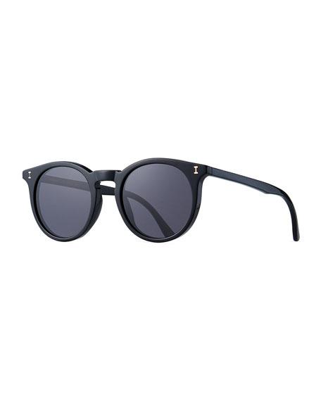 Illesteva Sterling Round Acetate Sunglasses