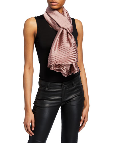 Mayfair Plisse Scarf