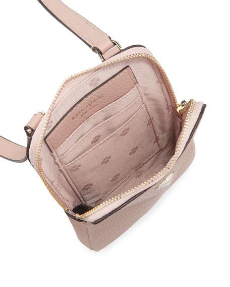 kate spade new york polly leather crossbody phone bag