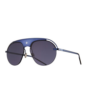 657740ce603fb Dior Dio(R)evolution Mirrored Aviator Sunglasses
