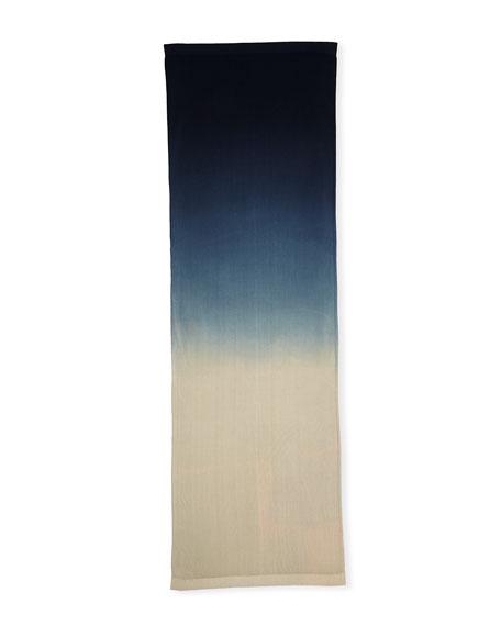 Lafayette 148 New York Dip-Dye Oblong Shawl