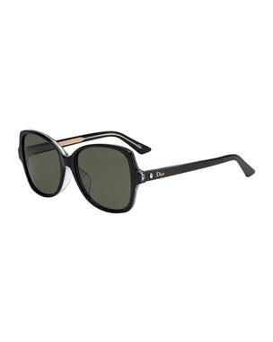 2b61f62ac333 Dior Monta21F Square Acetate Sunglasses