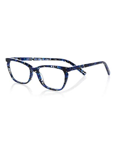 Miss Demeanor Cat-Eye Acetate Sunglasses