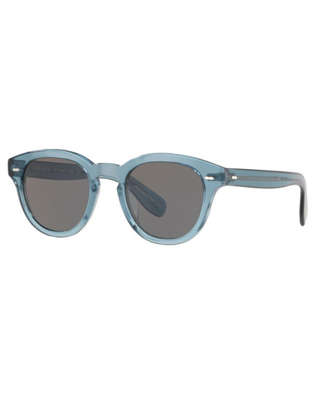 Oliver Peoples Sunglasses CARY GRANT OVAL ACETATE SUNGLASSES