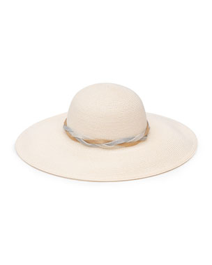 a89e8b6cfb9 Eugenia Kim Honey Woven Sun Hat w  Braided Band