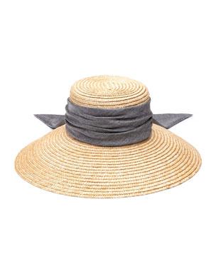 883d487ab2d Eugenia Kim Annabelle Woven Straw Sun Hat
