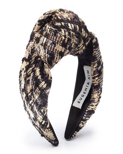 Maryn Knotted Tweed Headband