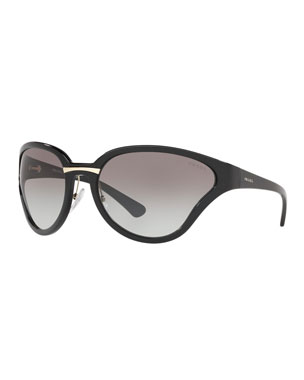 da5aca392dc7e Prada Sunglasses   Square   Cat-Eye Sunglasses at Neiman Marcus