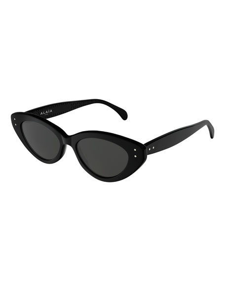 ALAIA Cat-Eye Acetate Sunglasses