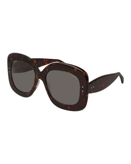 ALAIA Square Acetate Sunglasses