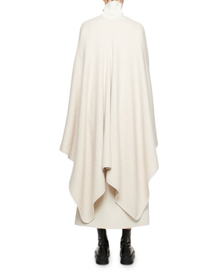 THE ROW Ryani Silk-Cashmere Cape