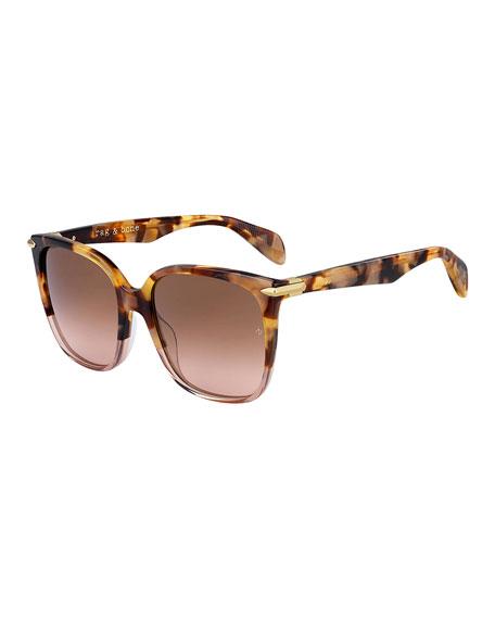 Rag & Bone Square Acetate Sunglasses