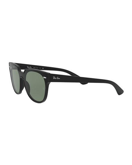 Ray-Ban Square Monochromatic Sunglasses