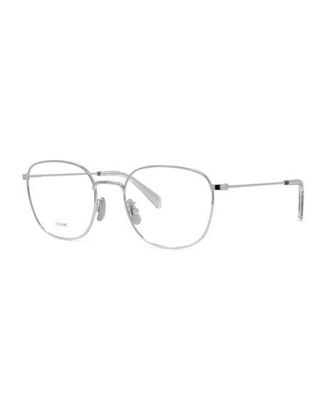 Celine Square Metal Optical Frames