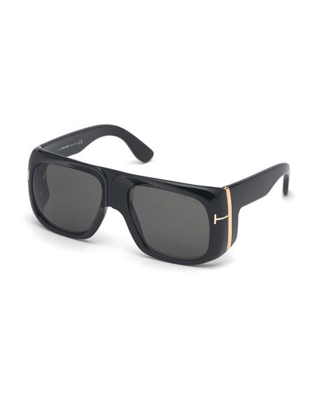 TOM FORD Gino Square Acetate Sunglasses