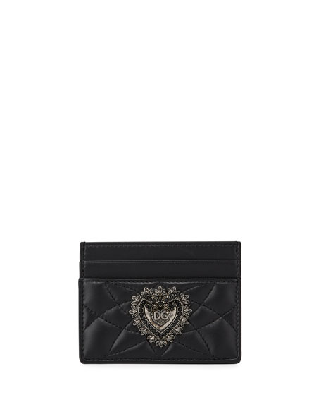 Dolce & Gabbana Devotion Leather Card Case