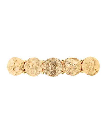 Oscar de la Renta Coin Barrette