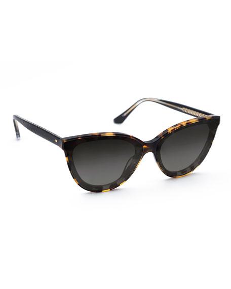 KREWE Monroe Nylon Cat-Eye Sunglasses