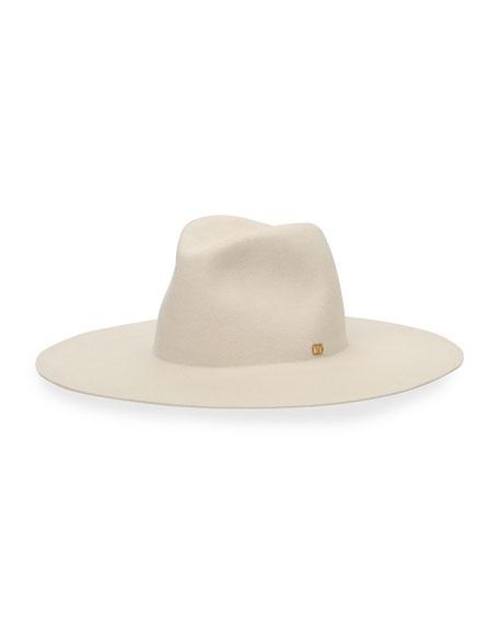 Valentino Lapin Large Brim Hat