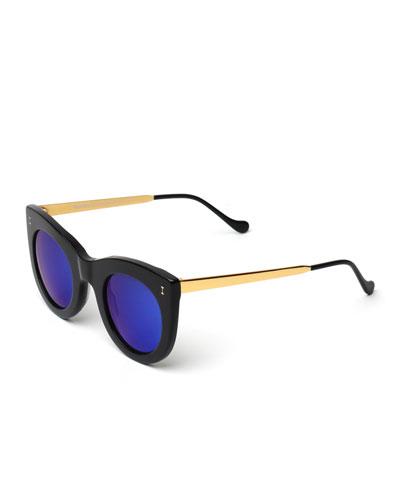 Boca II Cat-Eye Sunglasses