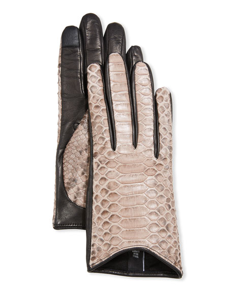 Guanti Giglio Fiorentino Python Short Gloves