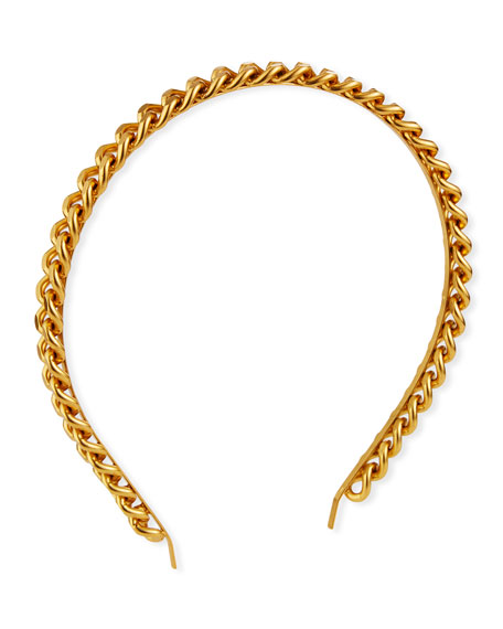 Elizabeth Cole Wendy Curb-Link Headband