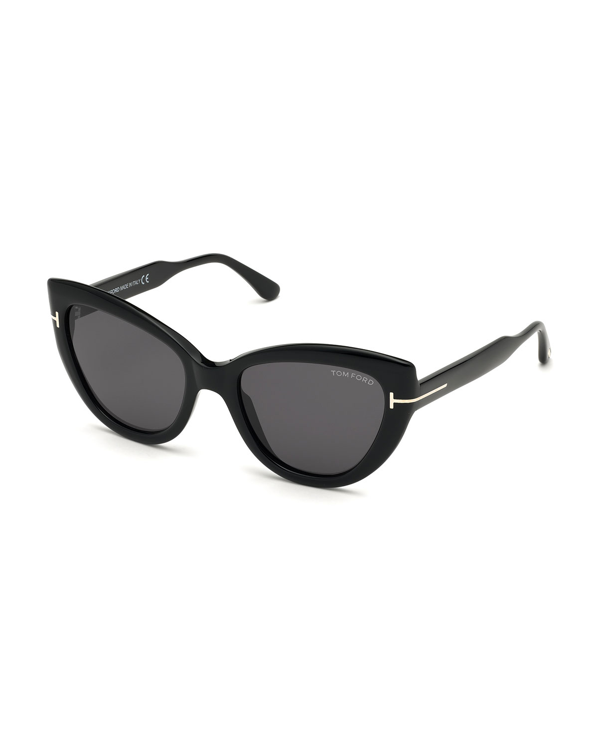 TOM FORD Anya Cat-Eye Polarized Sunglasses