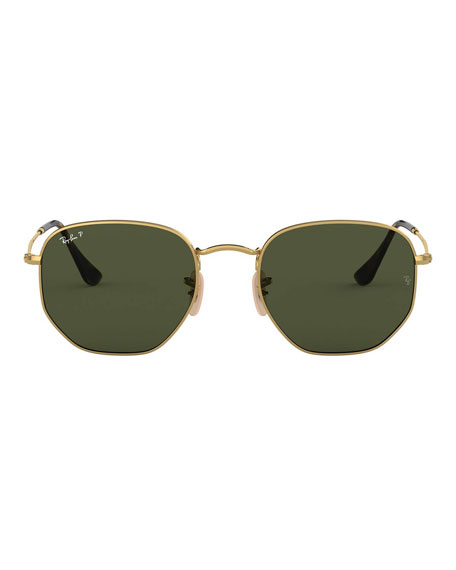Ray-Ban Square Steel Monochromatic Sunglasses