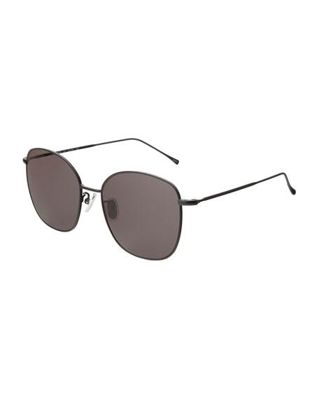 Illesteva Oval Metal Sunglasses