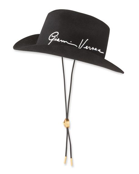 Versace Gianni Versace Signature Cowboy Hat
