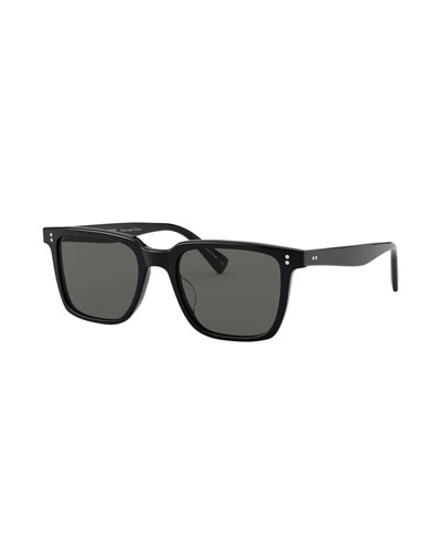 Lachman Square Polarized Acetate Sunglasses