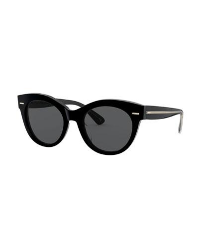 Georgica Polarized Acetate Cat-Eye Sunglasses
