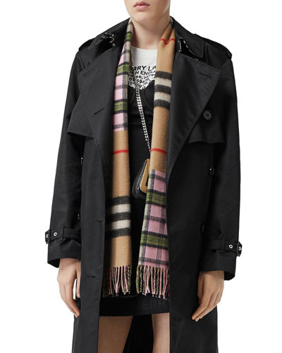 Found Check to Giant Check Scarf