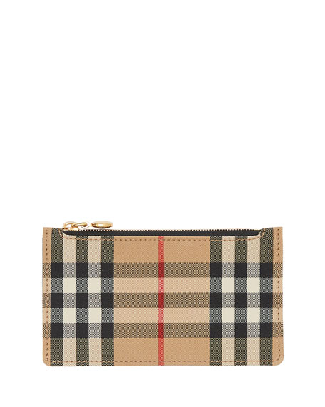 Burberry Cases Somerset Vintage Check Card Case
