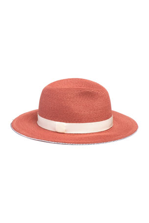 Eugenia Kim Courtney Packable Hemp Fedora Hat