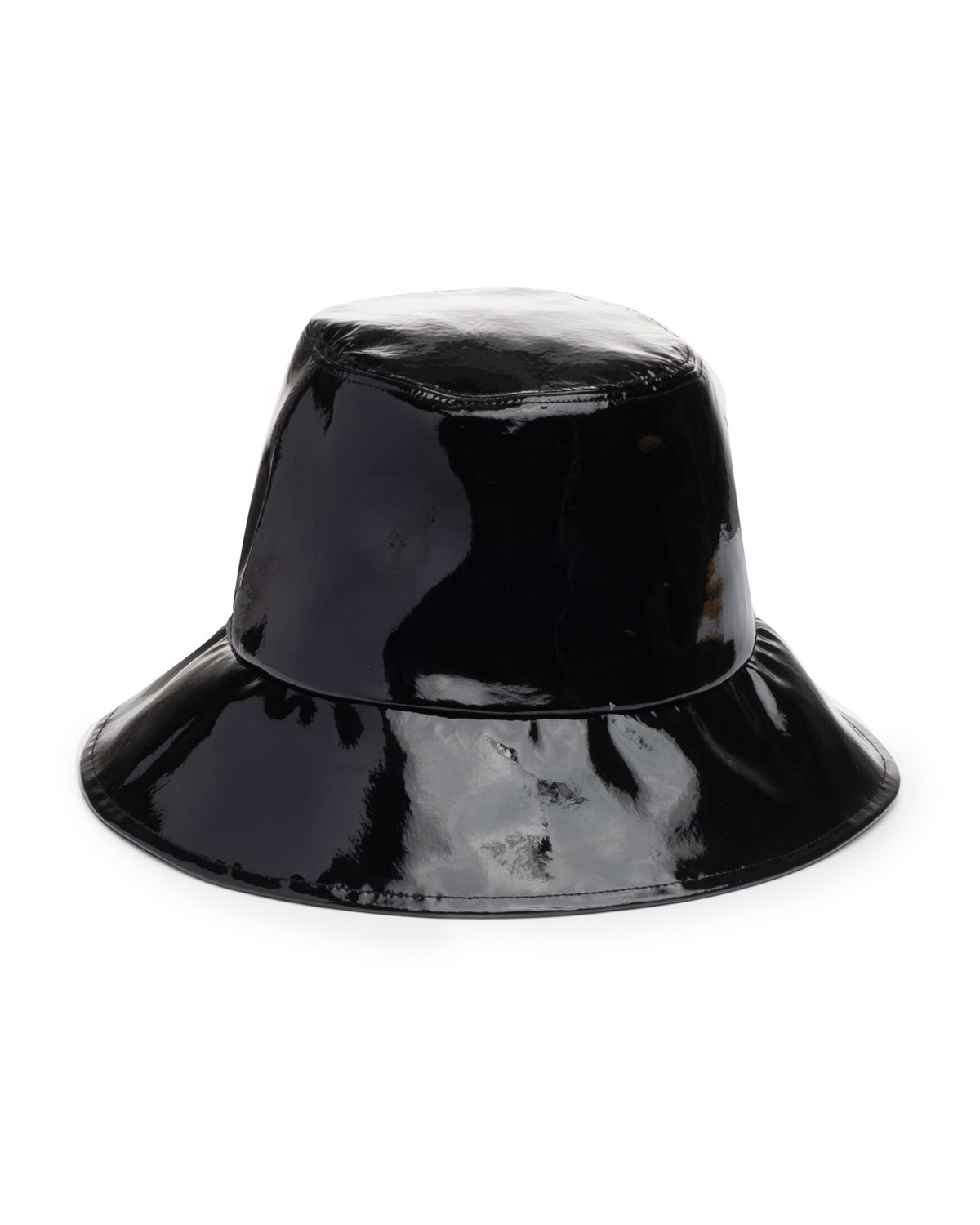 toby-patent-leather-bucket-hat by eugenia-kim
