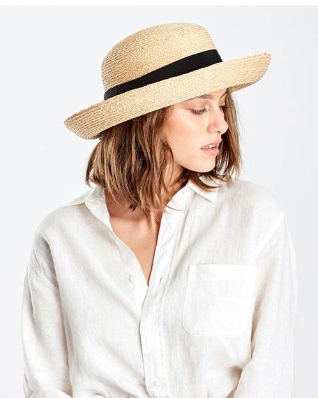 Helen Kaminski Newport Raffia Stand Hat