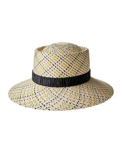 Katya Woven Straw Bucket Hat