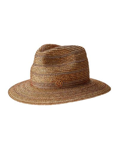 Rico Straw Fedora Hat