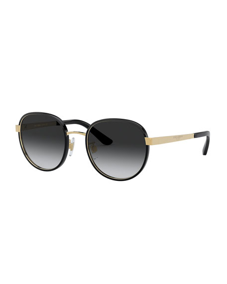 Dolce & Gabbana Round Metal Sunglasses