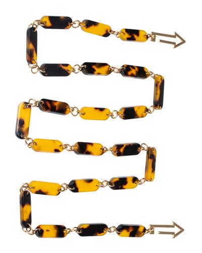 Rounded Acetate Eyewear Chain