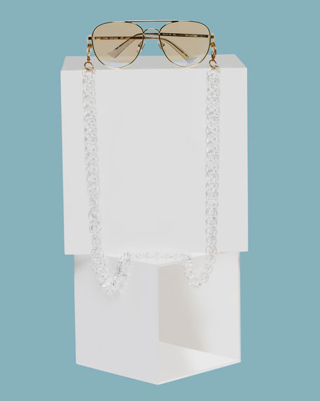 The Book Club Chunky Eyewear Chain