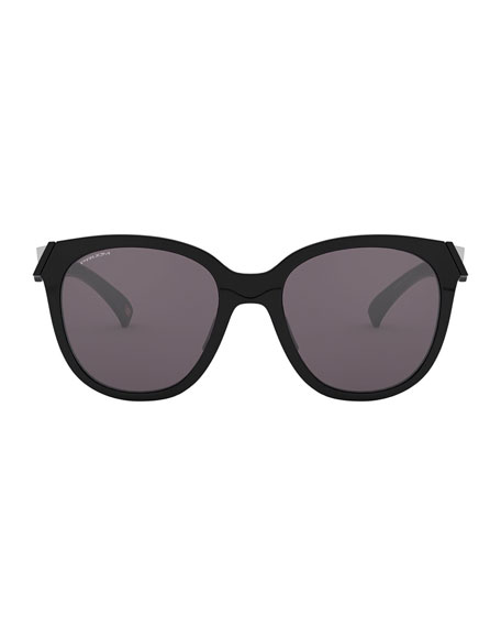 Image 2 of 4: Oakley Low Key Prizm Round Sunglasses