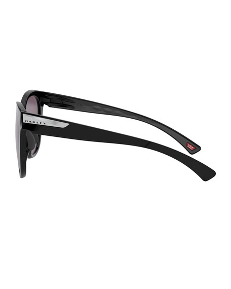 Image 3 of 4: Oakley Low Key Prizm Round Sunglasses