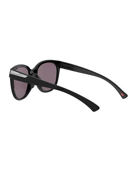 Image 4 of 4: Oakley Low Key Prizm Round Sunglasses