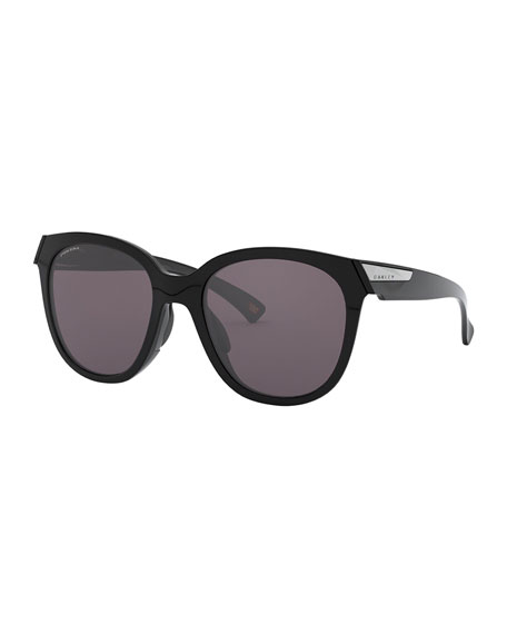 Image 1 of 4: Oakley Low Key Prizm Round Sunglasses