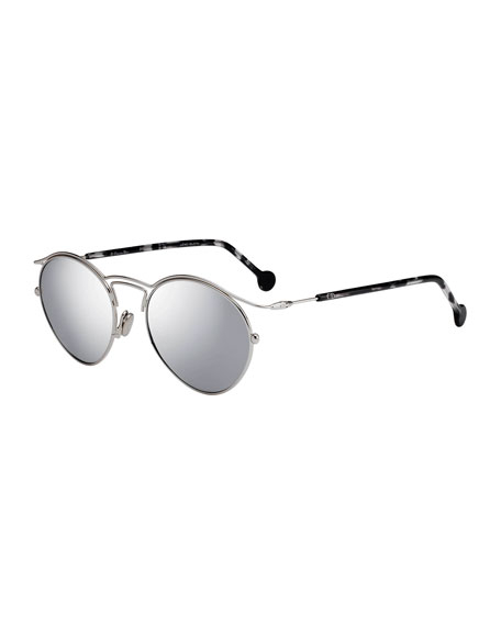 Dior DiorOrigins1 Round Geometric Sunglasses