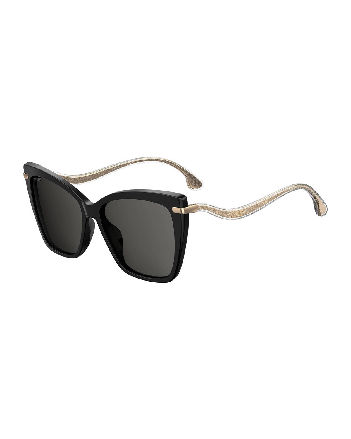 Jimmy Choo SELBY/G/S Sunglasses : SELBY/G/S Black SELBY/G